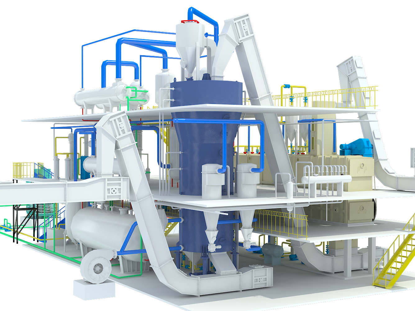 Oil Mill Pretreatment Press Process
