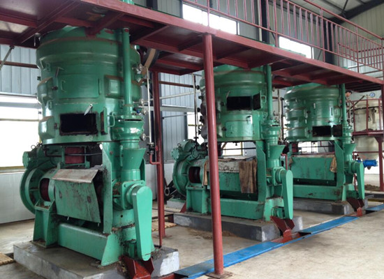Peanut/groundnut oil press production line