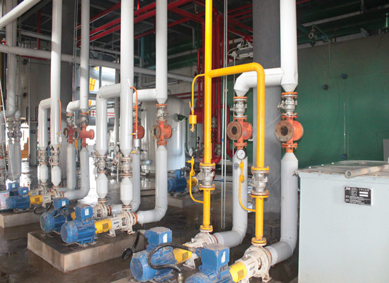 Vegetable oil solvent extraction machinery