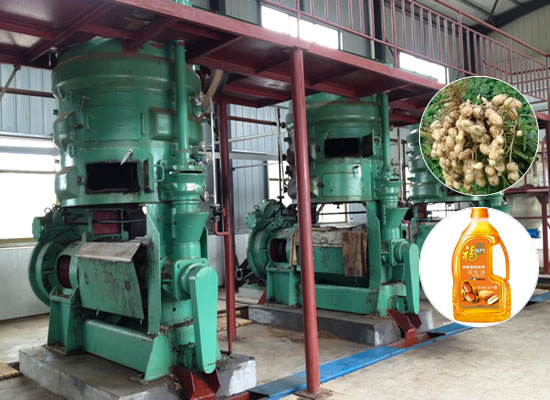Peanut oil extraction plant