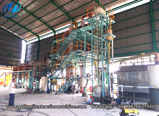 5tpd palm oil refining machine successfully installed in Indonesia