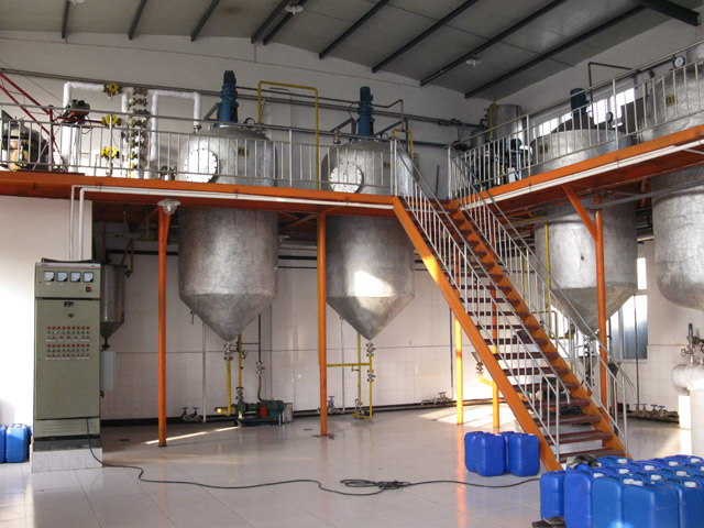 cooking soybean oil refining machine