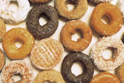 Doughnuts often contain partially hydrogenated oil