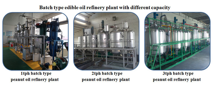 cooking oil refining machine