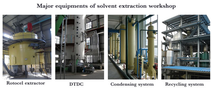peanut oil solvent extraction plant