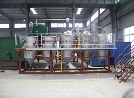 penaut oil refining machine