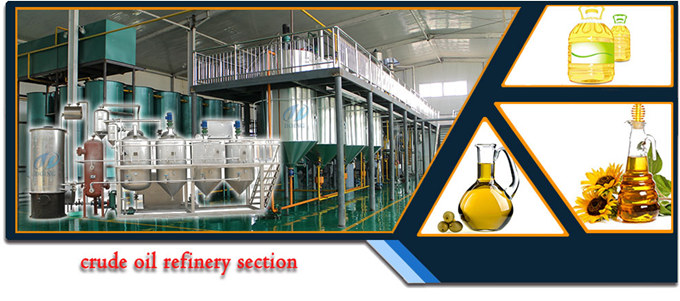 vegetable oil production machine