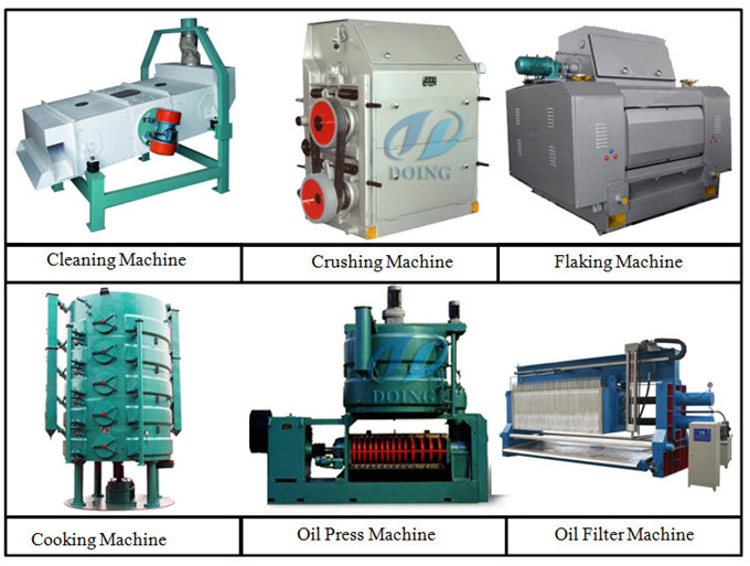 oilseed pretreatment & pre-pressing machine