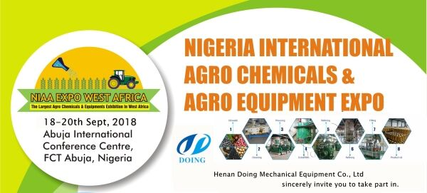 Nigeria International Agro Chemical and Agro Equipment Expo 2018