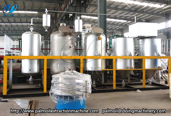 peanut oil refining machine