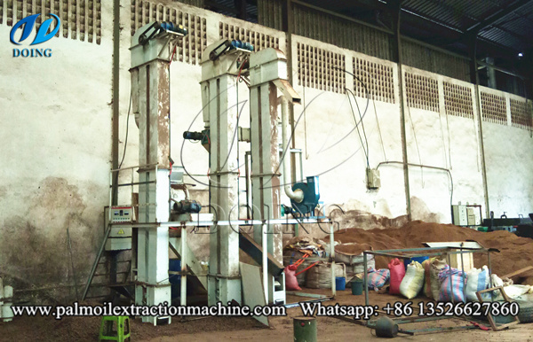 palm kernel cracker and separator