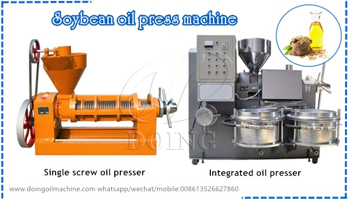 How to choose suitable machines to start soybean oil
