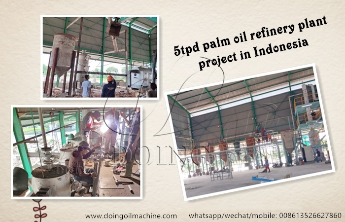 palm oil refining plant in indonesia