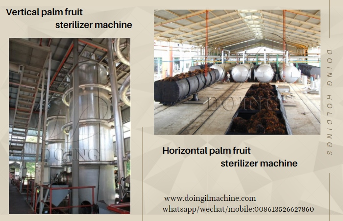 palm fruit sterilizer machine