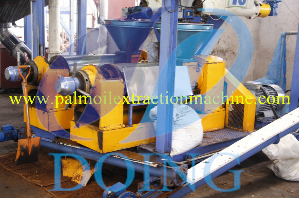 press machine of palm oil plant