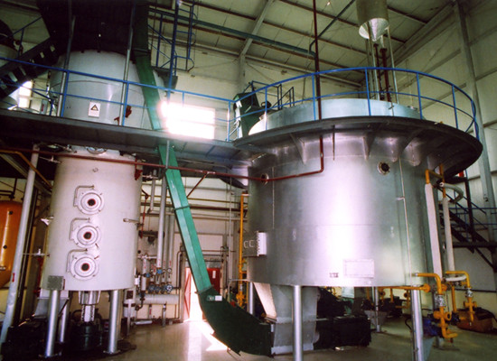 Process of soybean oil extraction