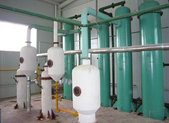 Sunflower oil refining machine technology