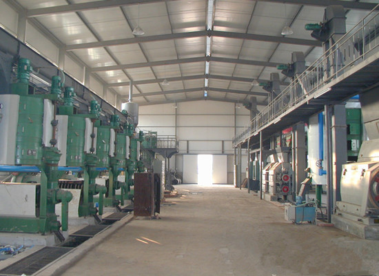 Cottonseed oil plant project built in Uzbekistan