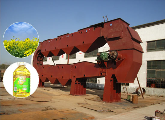 Canola oil extraction plant