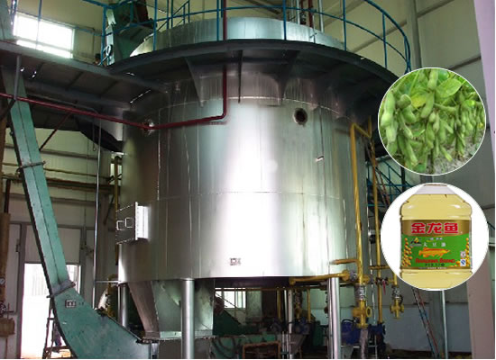 Soybean oil extraction plant(so