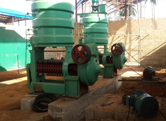 Screw oil press machine for soybean and peanut