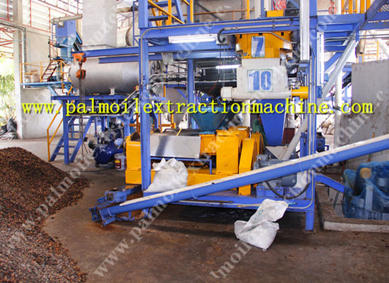 5TPH dry type palm oil processing machine installed in Tainland