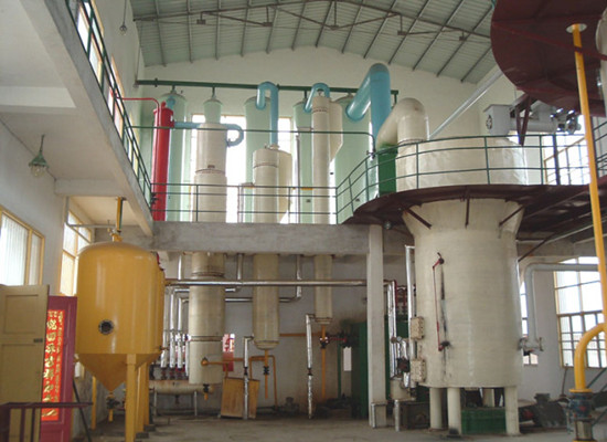 Cottonseed oil solvent extraction machine