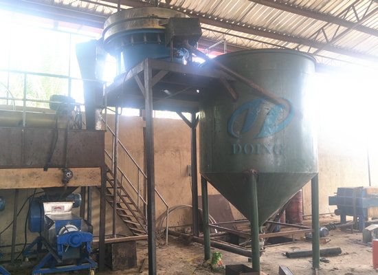 Nigeria 3tph palm oil mill plant project