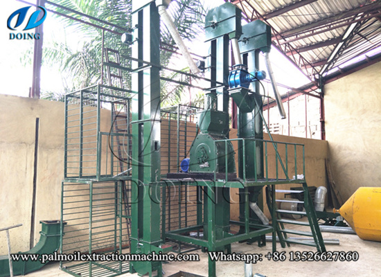 2tph palm kernel cracking and separating machine successfully installed in Nigeria