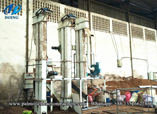 2tph palm kernel cracker and separator machine successfully installed in Cote d'Ivoire