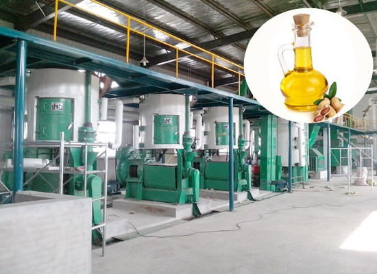 Peanut oil pretreatment production line