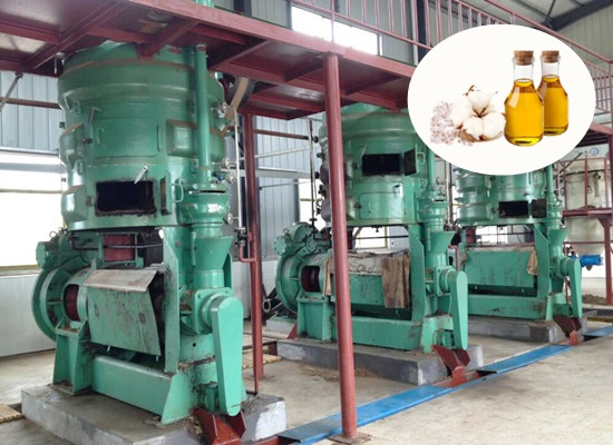 Cottonseed oil pretreatment and pressing machine
