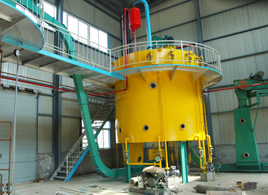 Extractor of oil solvent extraction plant