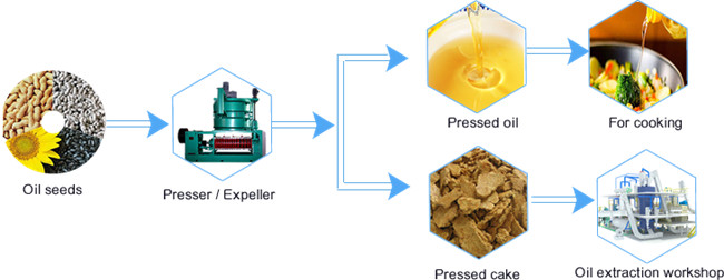 soybean oil processing process