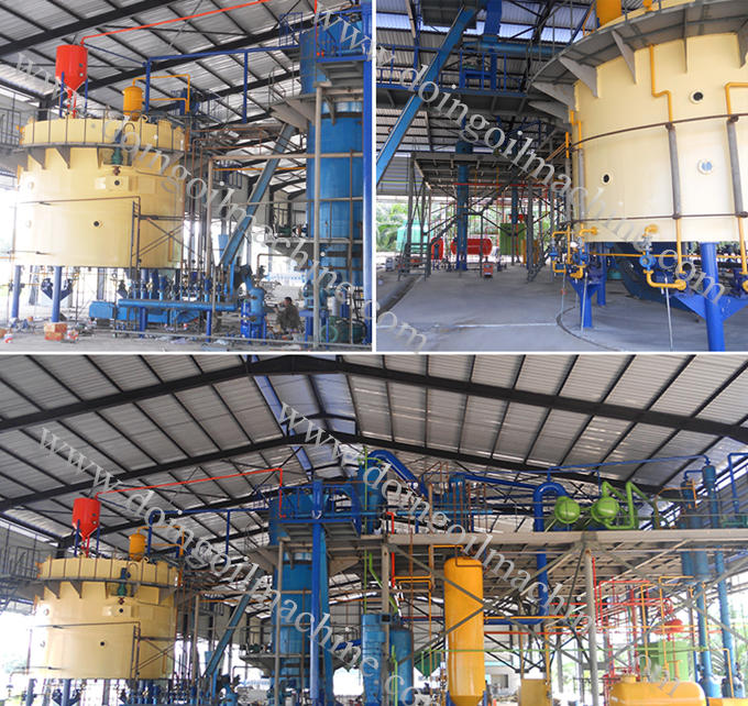 cooking oil solvent extraction machinery