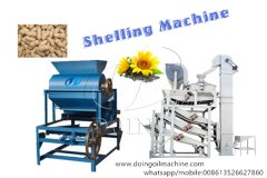 What machines are used in cooking oil manufacturing process?