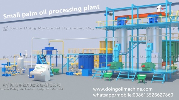 small palm oil extraction machine