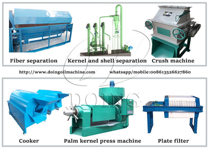 palm kernel oil process machine